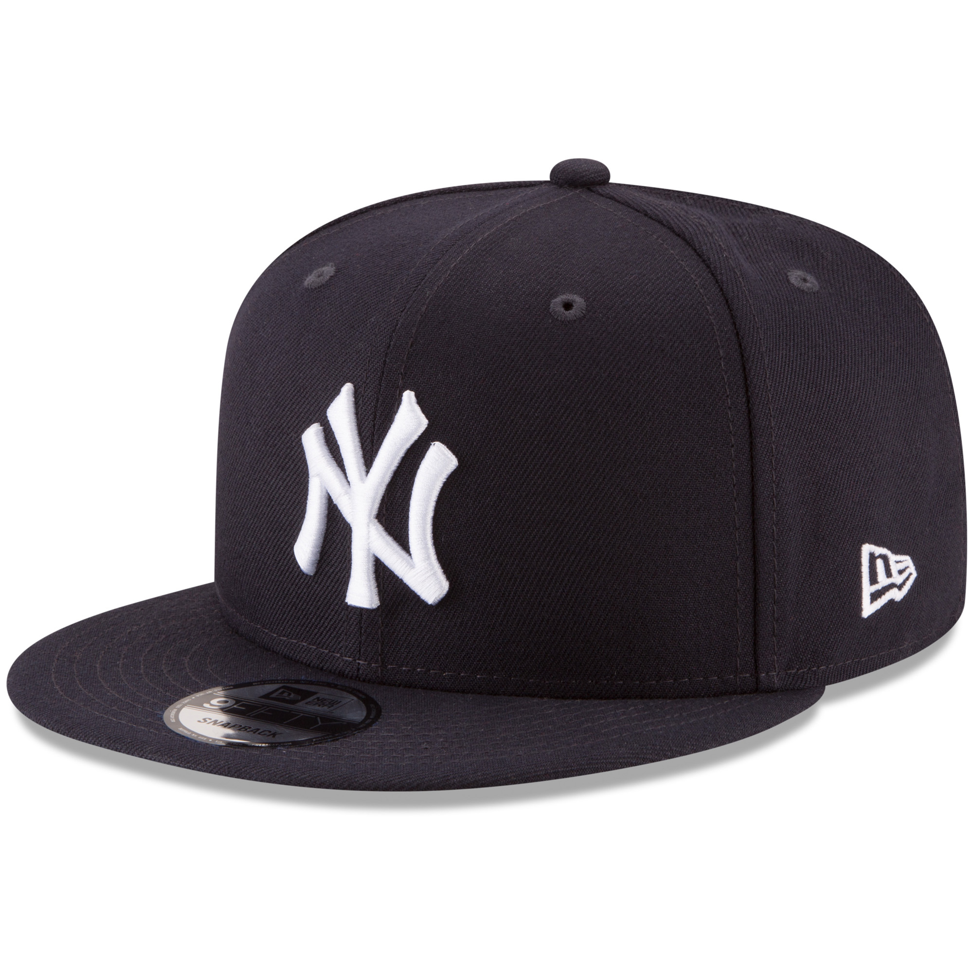 New York Yankees New Era Team Color 9FIFTY Adjustable Hat - Navy - OSFA
