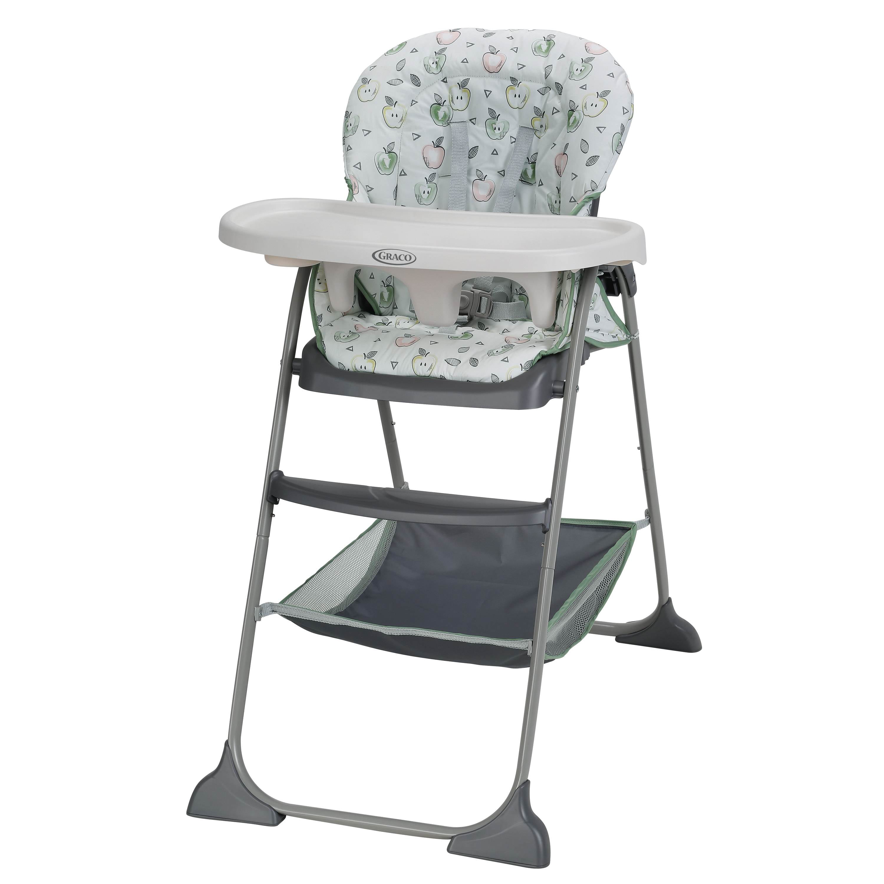 Adjustable Unisex High Chair Animal Print Easy to Use//Clean Super Fast Shipping