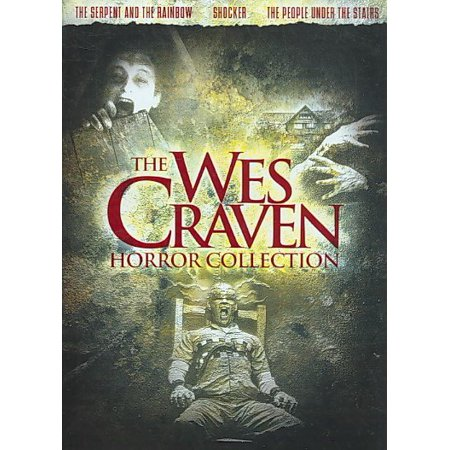 The Wes Craven Horror Collection (DVD) - Funny Halloween Horror Movies