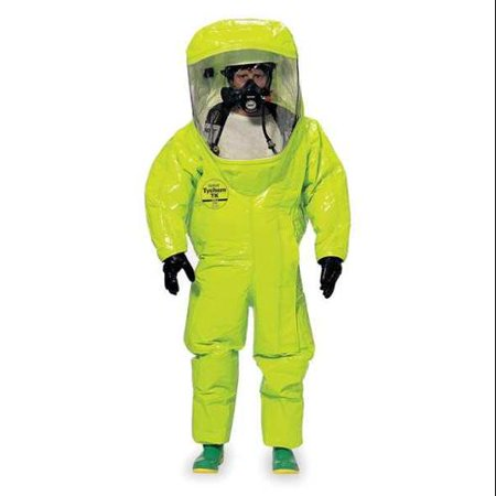 DUPONT TK555TLYMD000100 Encapsulated Suit,M,Tychem TK G0086633