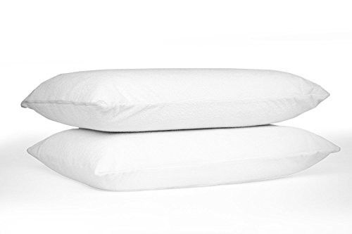 TRU Lite Bedding Pillow Protector Case 100% Waterproof Protection From Bed Bugs and Dust... by TRU Lite Bedding