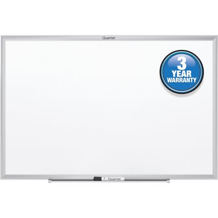Quartet Classic Whiteboard, 2' x 1.5', Silver Aluminum Frame (S531) (Wired Whiteboard)