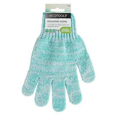 Grenade Pipe Gloves - EcoTools Exfoliating Gloves, 1CT