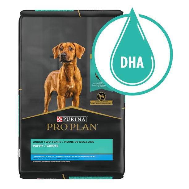 Purina Pro Plan Brand Large Breed Dry Puppy Food, Chicken & Rice Formula, 34 lb. Bag