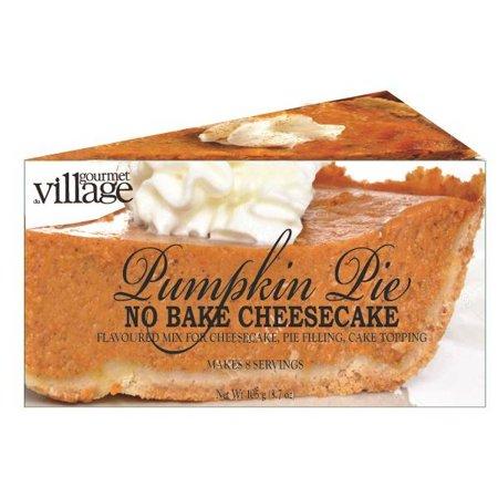 Halloween Pumpkin Cheesecake (No Bake Cheesecake Mix - Pumpkin)