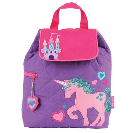 New  Unicorn Stephen Joseph Quilted Toddler Backpacks Personalized  1500