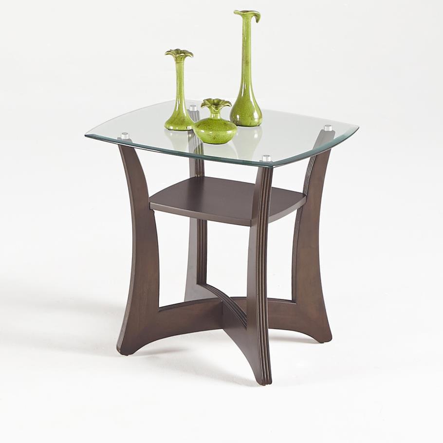 Progressive Abacoa Square Lamp Table by Progressive Furniture