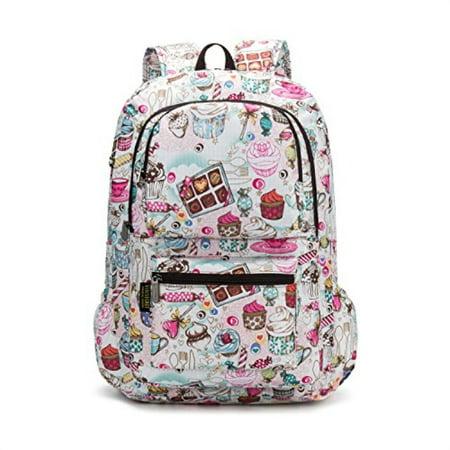 46a90d0bc58f CAMTOP - Girls Backpack For School Teens Bookbag Kids Backpack ...