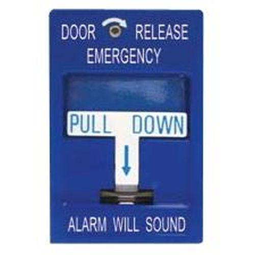 Security Door Controls SDC 492 Pull Release Station W/ Siren
