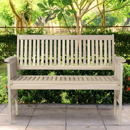 Swell 46 Two Seater Acacia Wood Garden Bench Grey Pdpeps Interior Chair Design Pdpepsorg