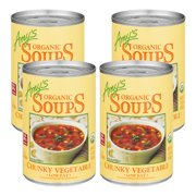 (4 Pack) Amy's Kitchen Chunky Vegetable Soup