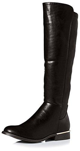 Modern Rush Women's Tall Stretch Boot, Black, 7 M US
