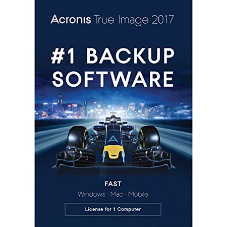 Acronis True Image 2017 - 1 Computer (Acronis True Image Clone Disk Operation Failed)