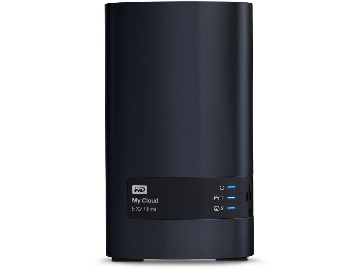 Western Digital Wd 16tb My Cloud Ex2 Ultra 2-bay Nas, Network Attached Storage, Raid, File Sync, by WD