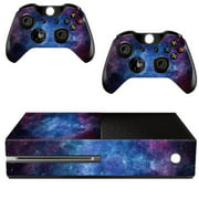Nebula Protective Vinyl Skin Decal Cover for Microsoft Xbox One Console & 2 Controller Wrap Sticker Skins