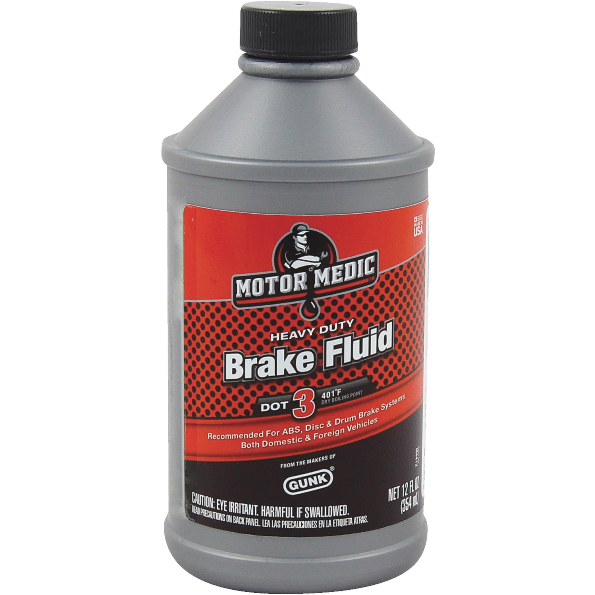 MotorMedic Heavy-Duty Brake Fluid