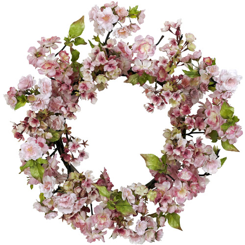 "24"" Cherry Blossom Wreath"