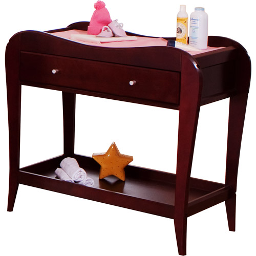 BSF Baby   Megan Changing Table With Drawer, Cherry