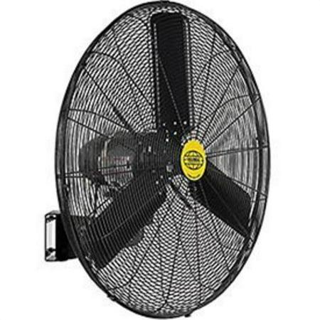 "outdoor oscillating wall mounted fan, 30"" diameter, 3/10hp ..."