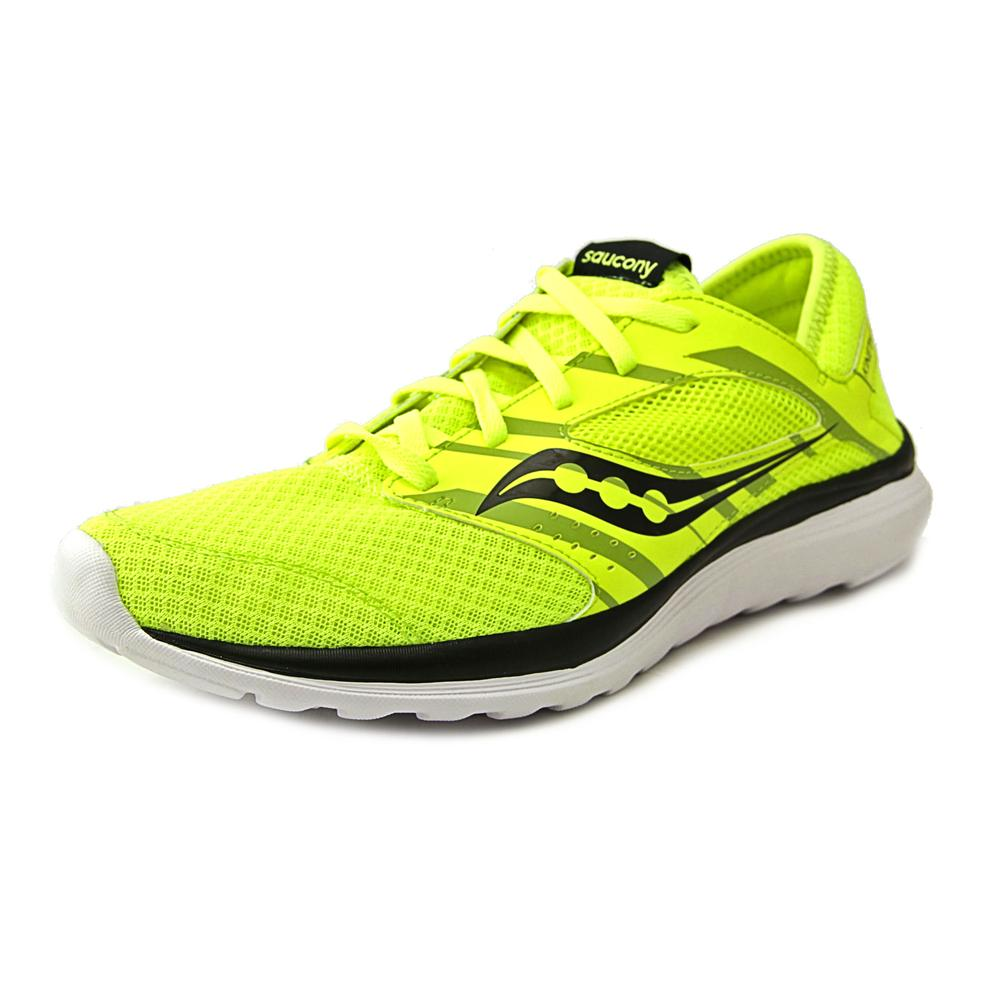 Saucony Kineta Relay Women  Round Toe Canvas Yellow Running Shoe