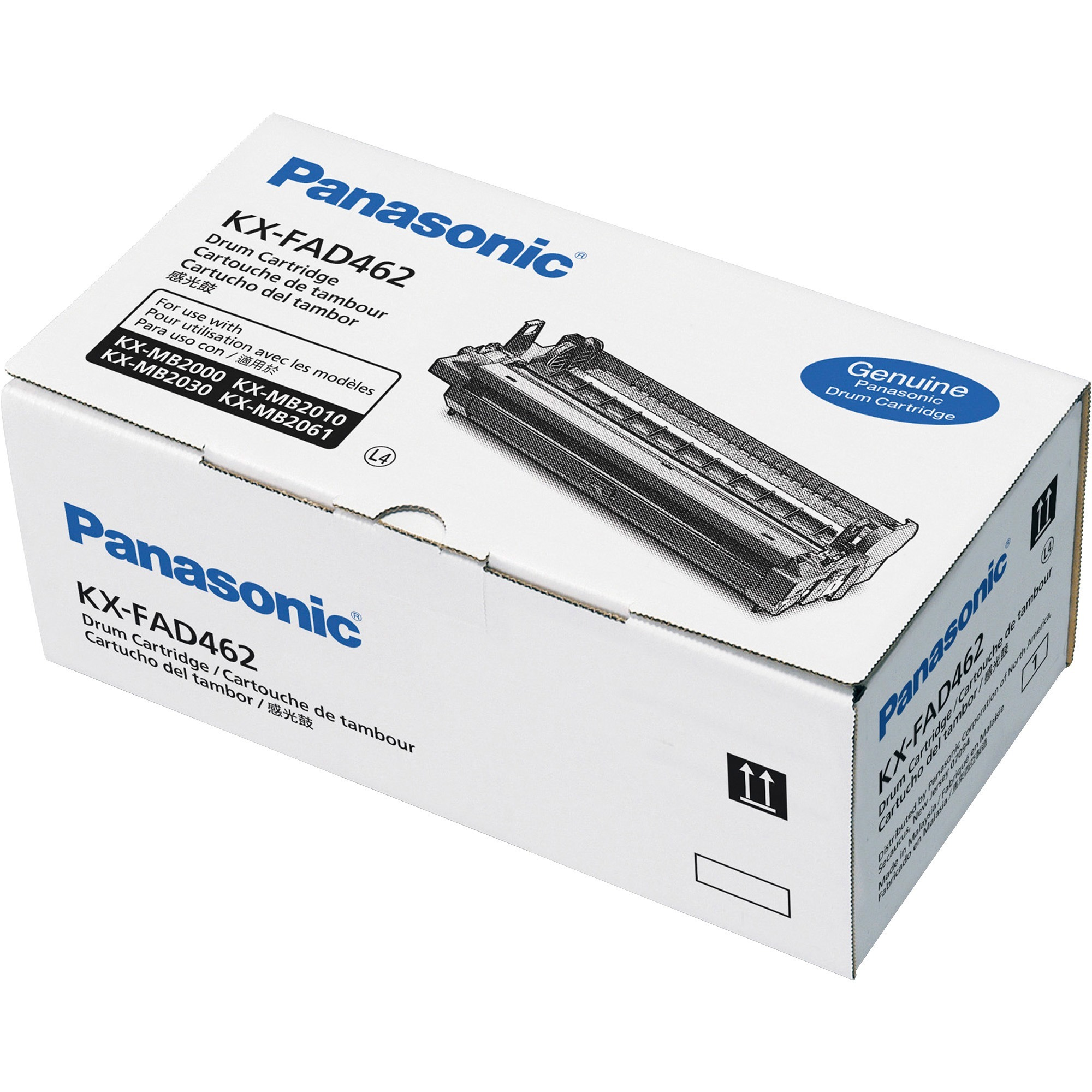 Panasonic KXFAD462 Replacement Drum Cartridge, 1 Each (Quantity)
