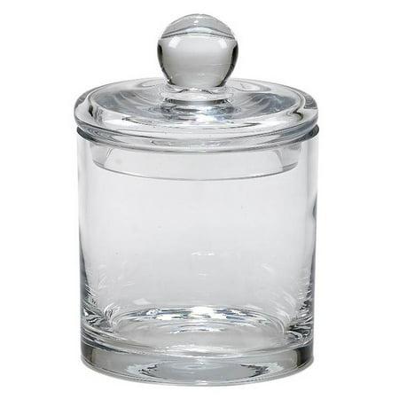 Optic Crystal Biscuit Barrel (Lismore Biscuit Barrel)
