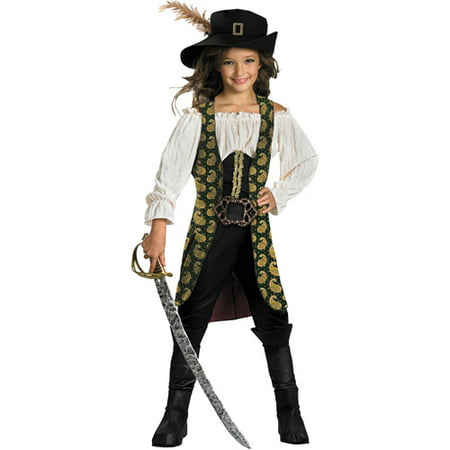 Pirates of the Caribbean Angelica Deluxe Child Halloween - Pirates Of The Caribbean Women Costumes