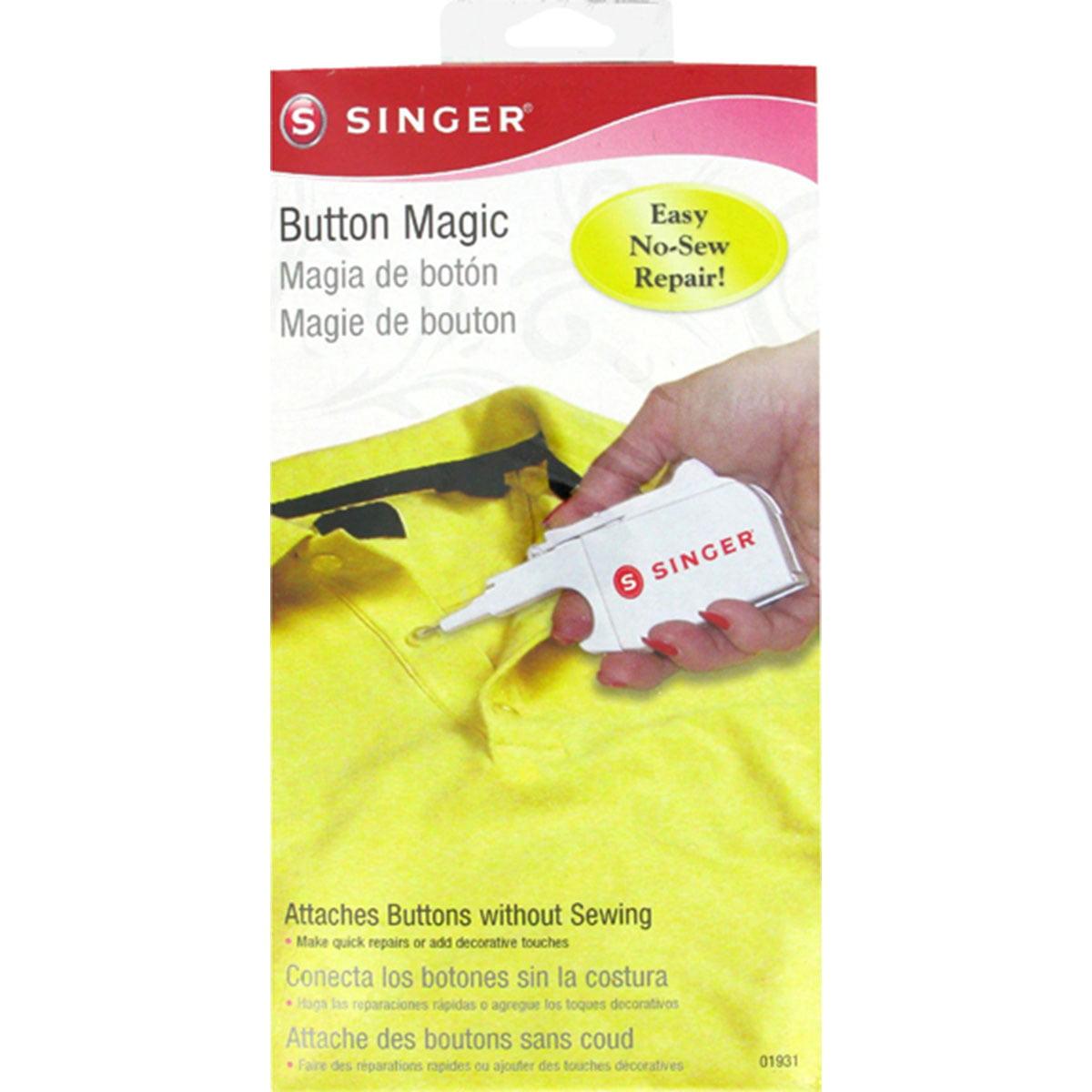 """Button Magic - 5"""" X 2"""""""