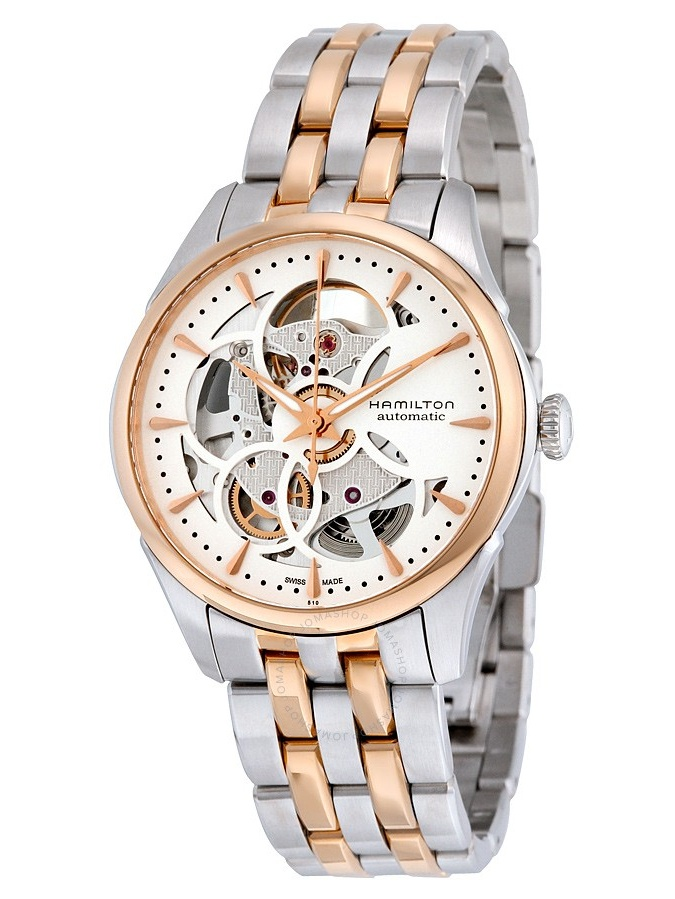 Hamilton Jazzmaster Automatic Skeleton Dial Ladies Watch H32425251 by Hamilton