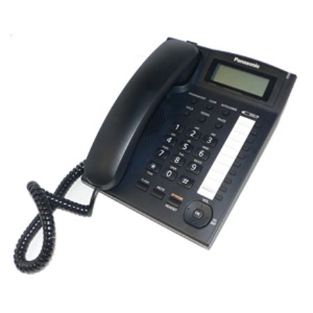 Panasonic KX-TS880B Corded Speakerphone with Caller ID and Ringer Indicator - Black