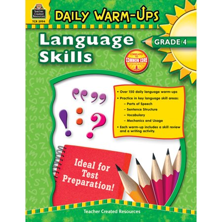 DAILY WARM UPS LANGUAGE SKILLS GR 4 (Daily Warm Ups)