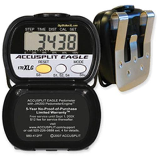 Accusplit AE170XLG-XBX Step Pedometer with Goal Distance