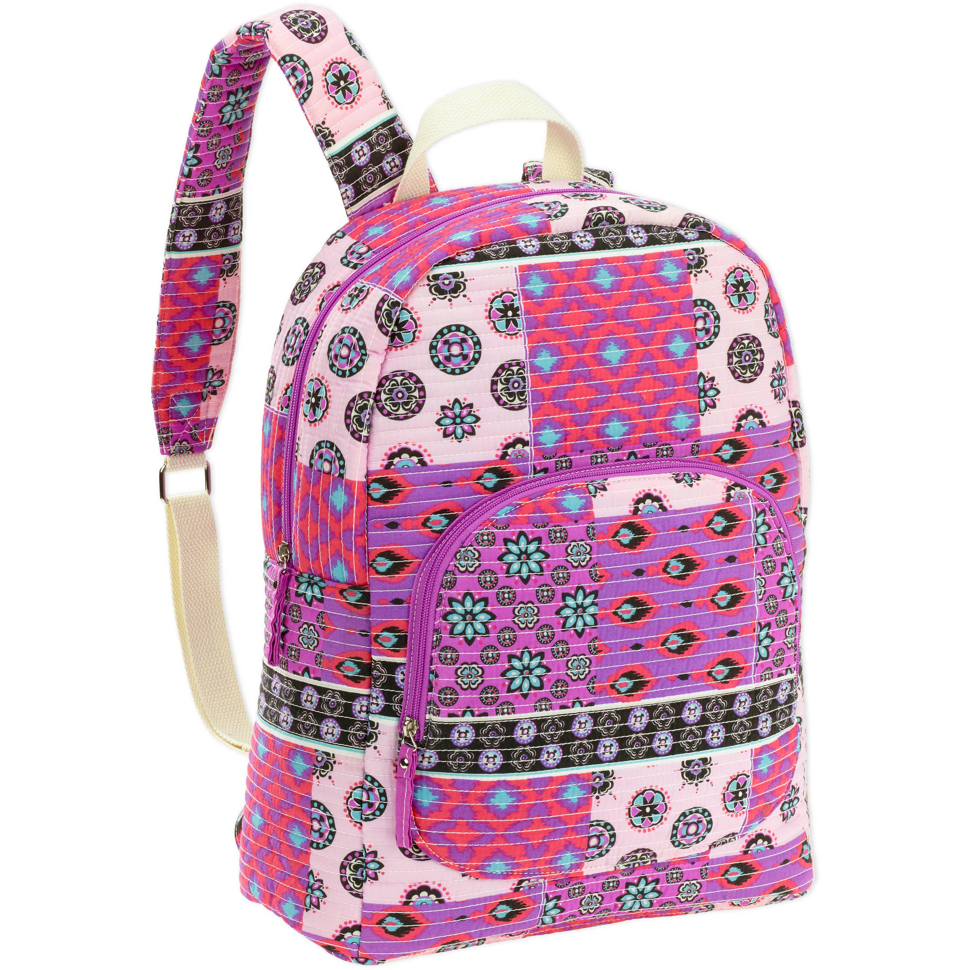 "No Boundaries Women's Quilted 18"" Backpack"