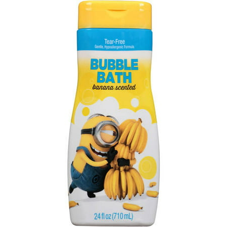 Despicable Me Minion Made Banana Scented Bubble Bath, 24 fl oz