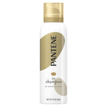 Pantene Pro-V Dry Shampoo to Refresh Hair without Washing, 4.9 Oz Dry Wash System