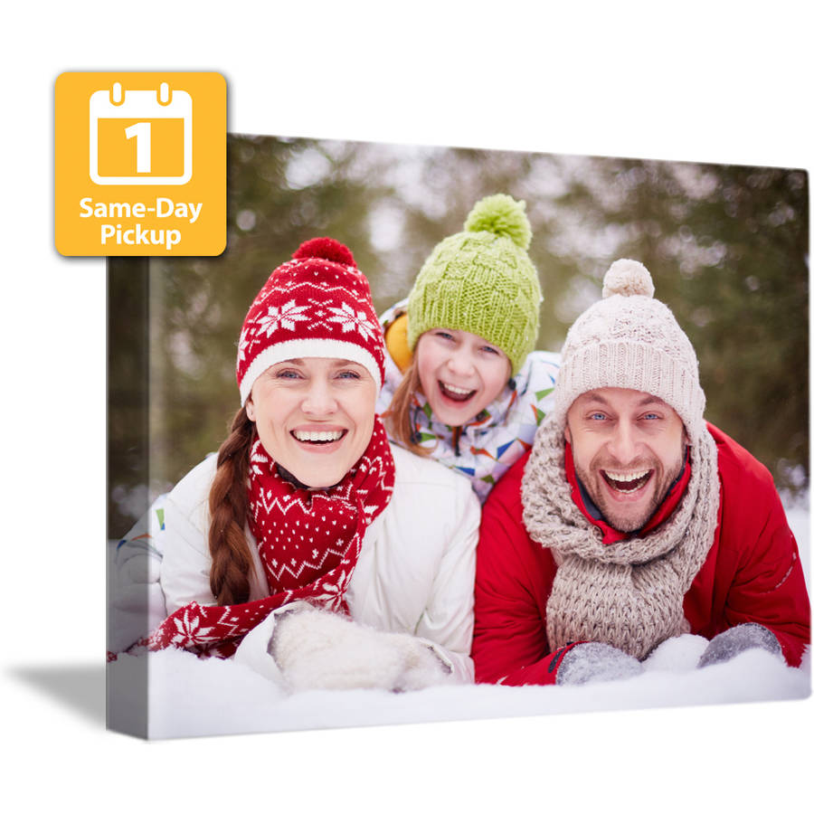 16x20 Same-Day Faux Photo Canvas