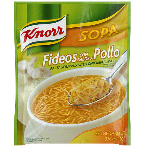 Knorr Chicken Flavored Soup Mix, 3.5 oz (Pack of 12)