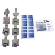 QUAKEHOLD! RD.HP.7G.1 HPLC 7-Stack Fastener Kit,Gray