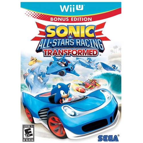 Sonic & All-Stars Racing Transformed, Nintendo, Nintendo Wii U, REFURBISHED/PREOWNED