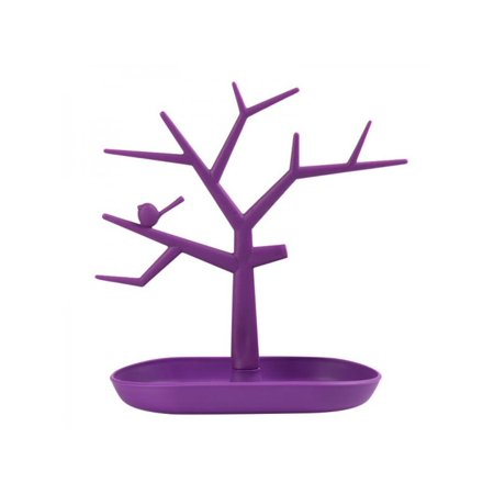 Display Jewelry Showcase Stands - Topumt Creative Tree Shape Jewelry Display Stand Necklace Ring Showcase Earring Hanger Holder