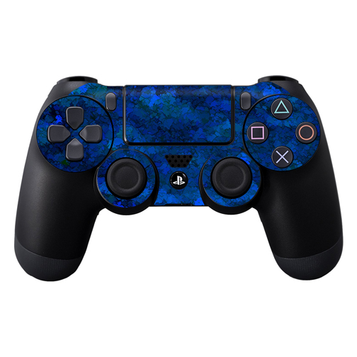 MightySkins Protective Vinyl Skin Decal for Sony PlayStation DualShock PS4 Controller Case wrap cover sticker skins Blue Ice