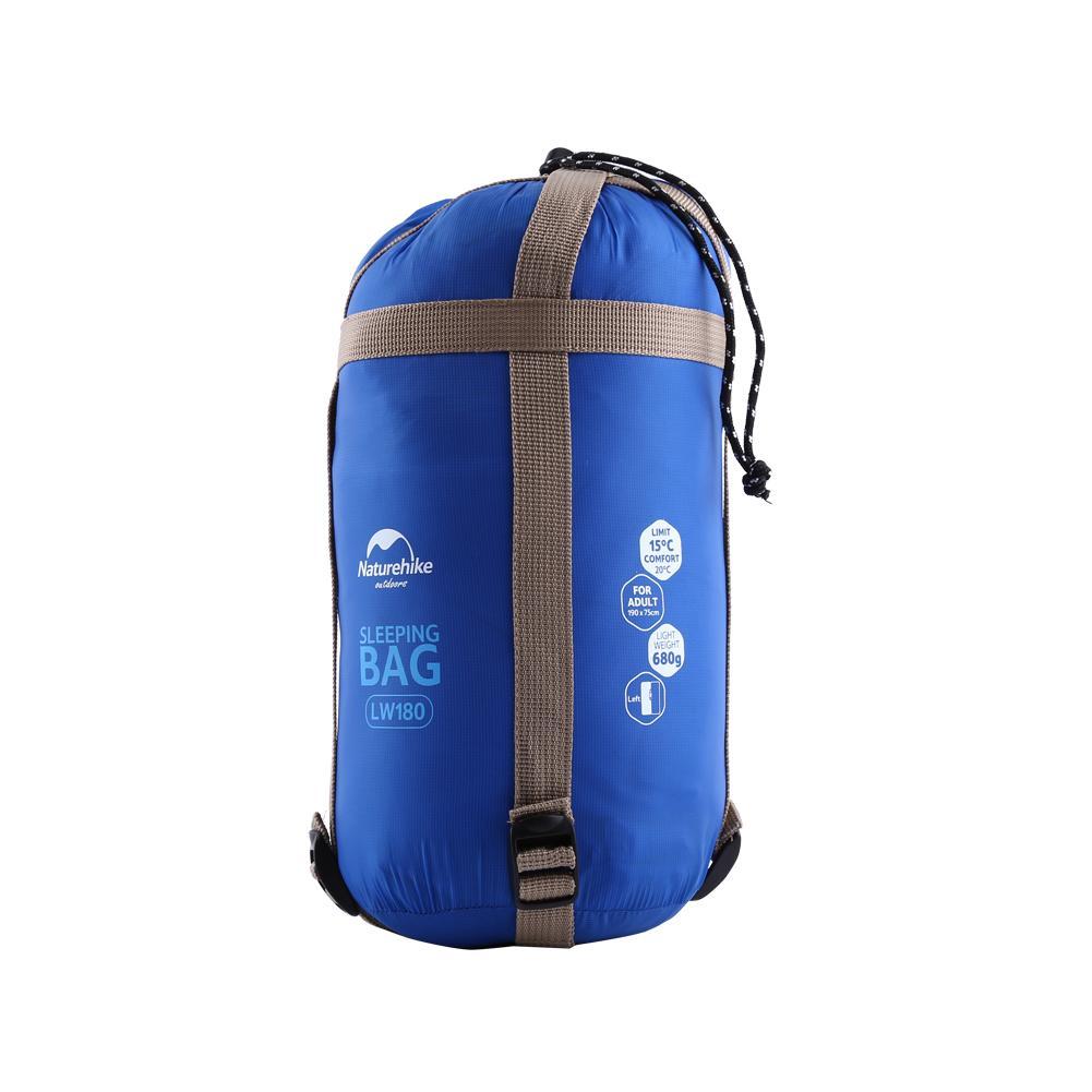 Yosoo Portable Mini Sleeping Bag Outdoor Camping Hiking Waterproof Sleeping Bag(Light Blue), Envelope Sleeping Bag,Sleeping Bag