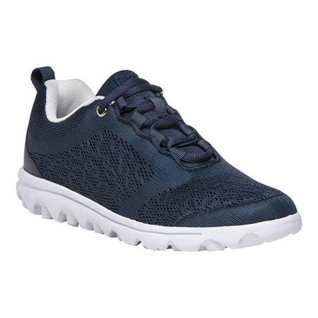 c76d2a8873d3 Propet - Propet Women s TravelActiv Lace Up Sneakers Navy Mesh EVA 11 B -  Walmart.com