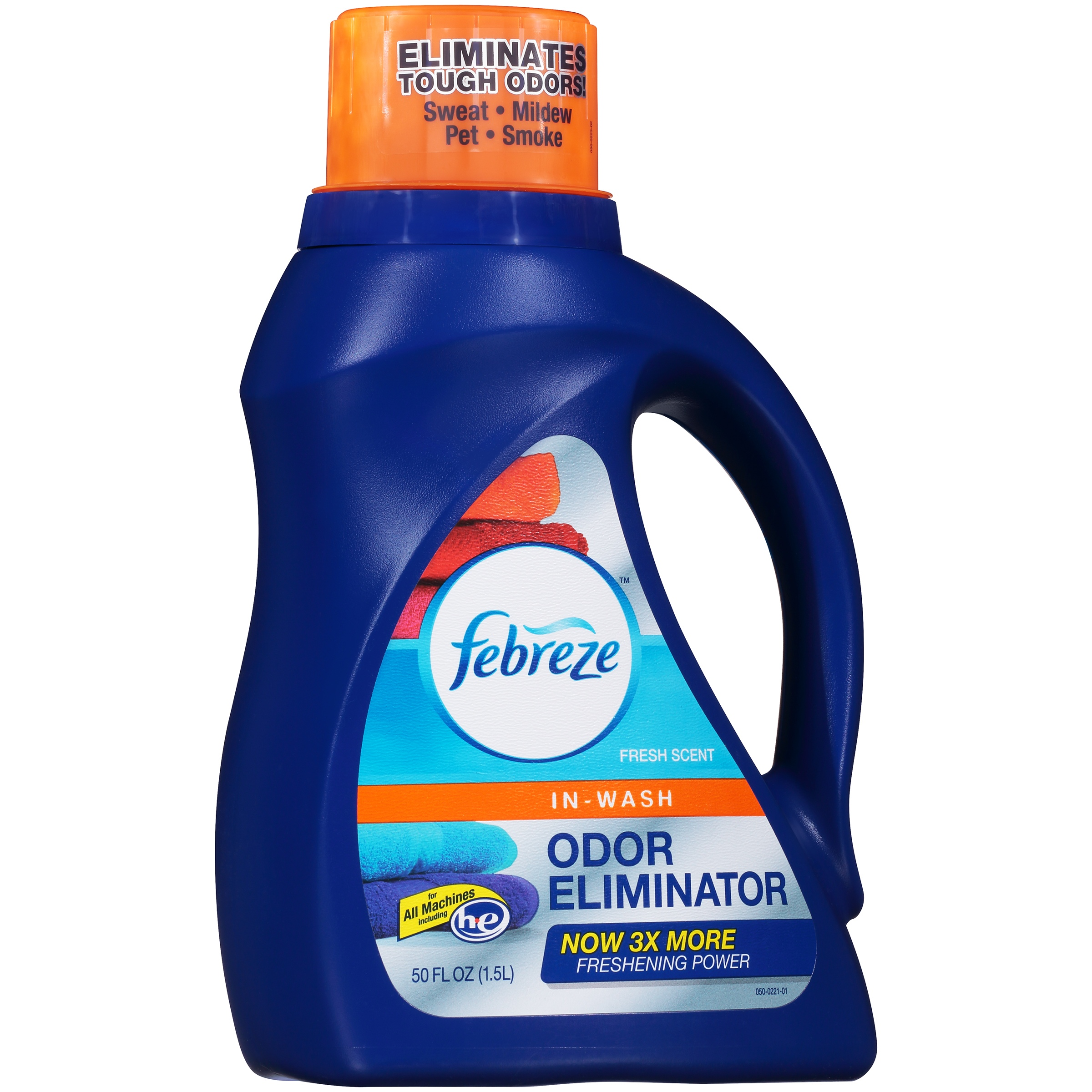 Febreze Fresh Scent In-Wash Odor Eliminator 50 fl. oz. Jug