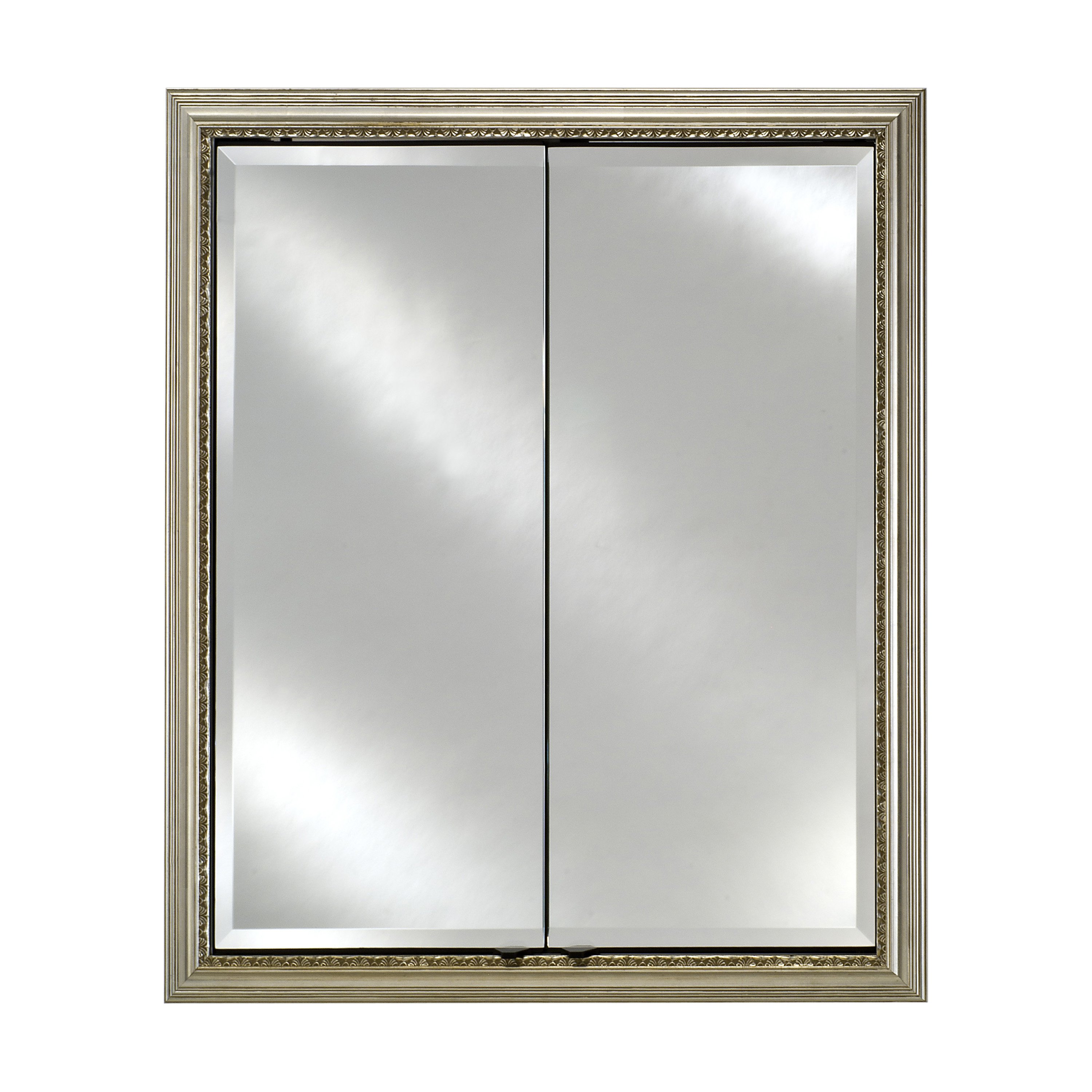 Afina Signature Collection Double Door 24W x 30H in. Recessed Medicine Cabinet