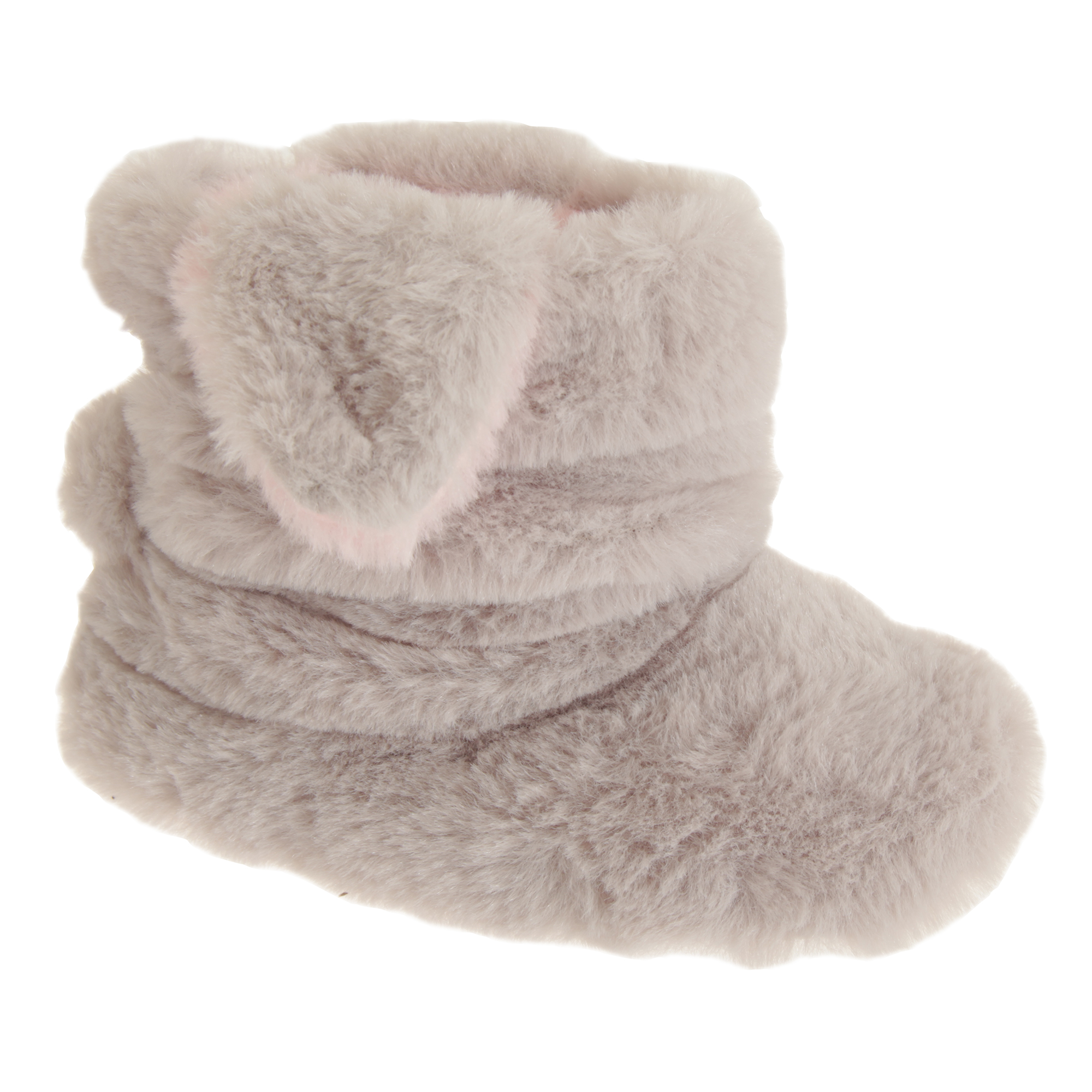 Sleepers Boys Girls Hoppy Touch Fastening Rabbit Bootee Slippers DF1404