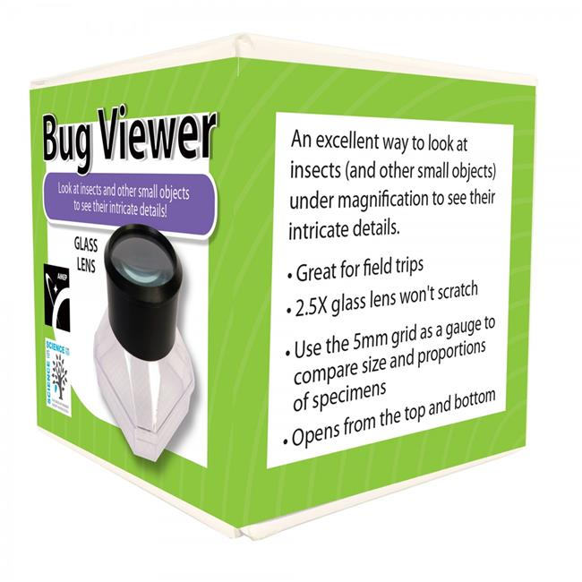 American Educational 7-1017-RT Ginsberg Magnifying Bug Viewer for Science Kit