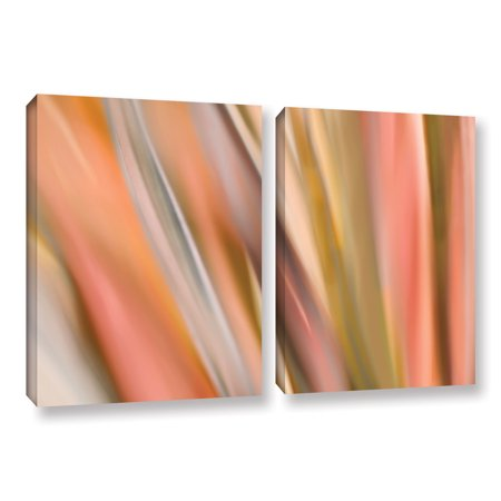 ArtWall 'Abstract Barcode' by Cora Niele 2 Piece Graphic Art on Wrapped Canvas Set - Promotional Code