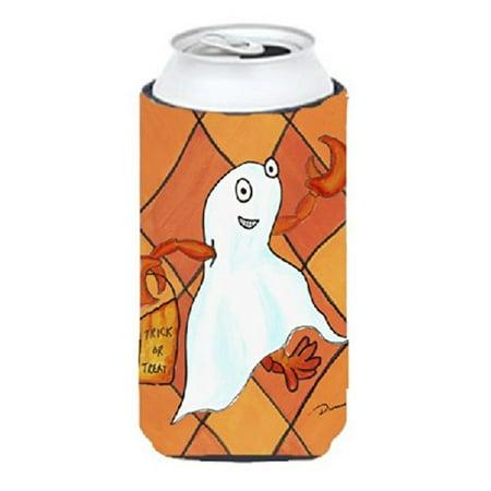 Crawfish Halloween Ghost Tall Boy bottle sleeve Hugger - image 1 de 1