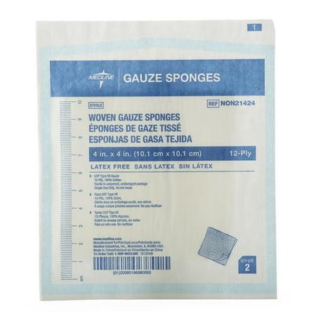 Woven Sterile Gauze Sponges - NON21424